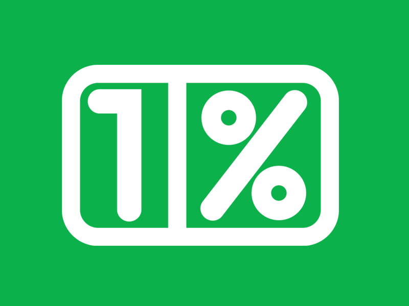 1procent-znaczek